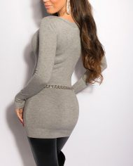 ooKouCla_Longsweater_w_studs_on_the_dcollet__Color_GREY_Size_Onesize_0000ISF8001_GRAU_25_2