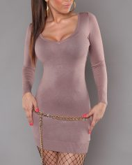 ooKouCla_knit-minidress_with_lace_and_bow__Color_CAPPUCCINO_Size_Onesize_0000ISF0605_CAPPUCCINO_8_2
