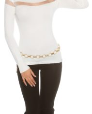 pull court blanc nouvelle collection